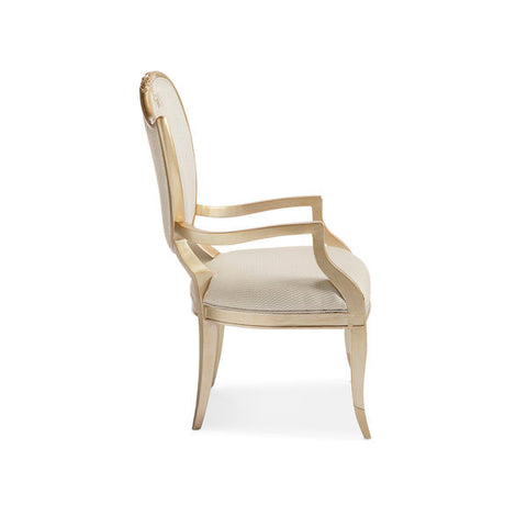 Image of Champagne Mist ARM CHAIR by Caracole®