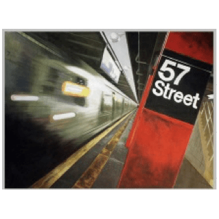57th Street - Oil on Canvas