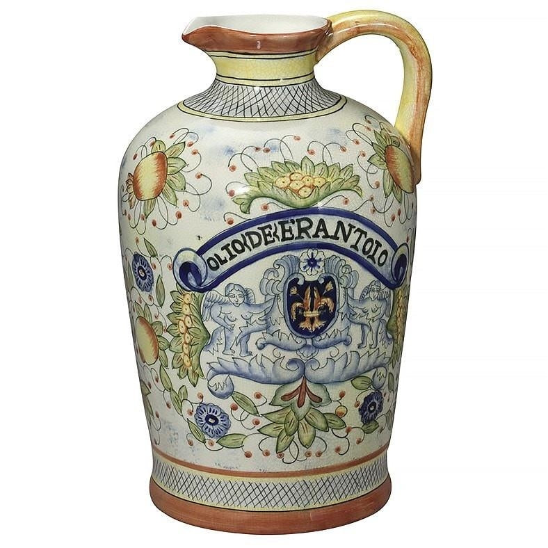 Italian Style Ceramic Pitcher