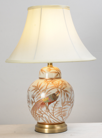 Oriental Phoenix Table Lamp