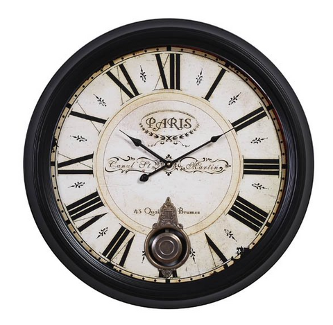 Image of Metal & MDF Wall Clock