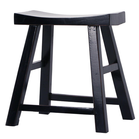 Saddle Stool Navy Blue