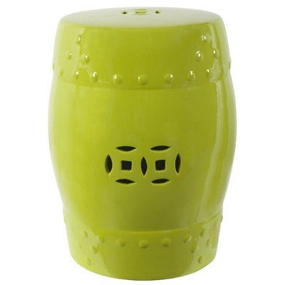 Zella Garden Stool Lime Green