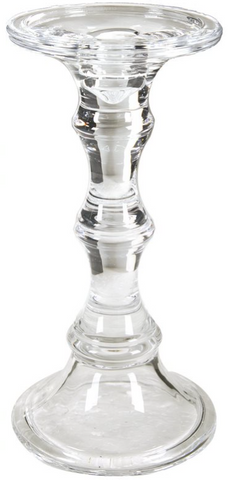 Image of Audrey Glass Candlestick