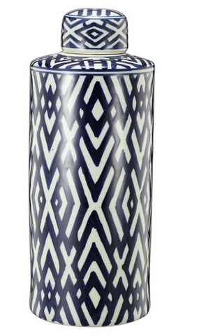 Image of Hexagon Carlyle Lidded Jar