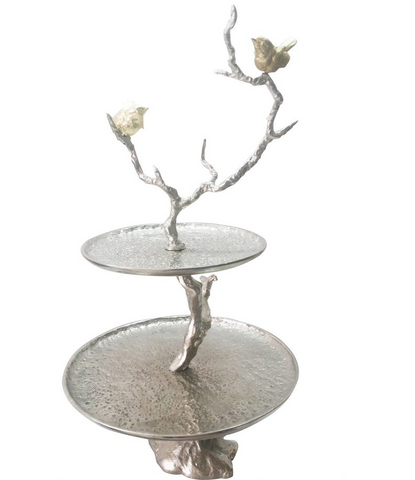 Image of Iron Branch 2-Tiered Tray