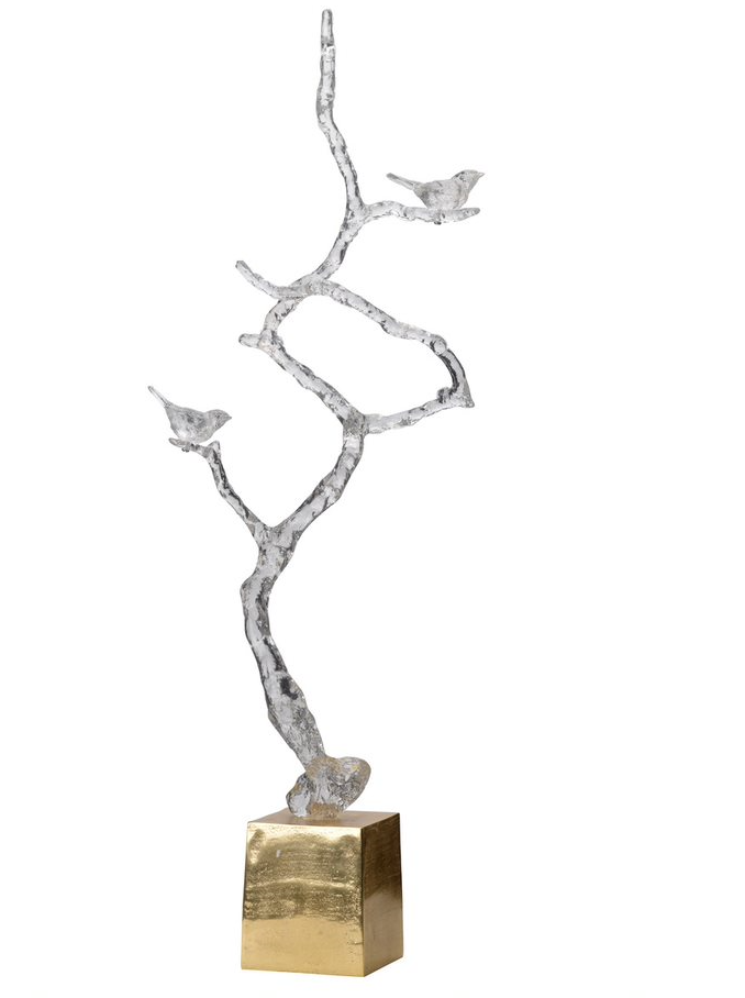 Atelier Acrylic Branch Sculpture On Stand
