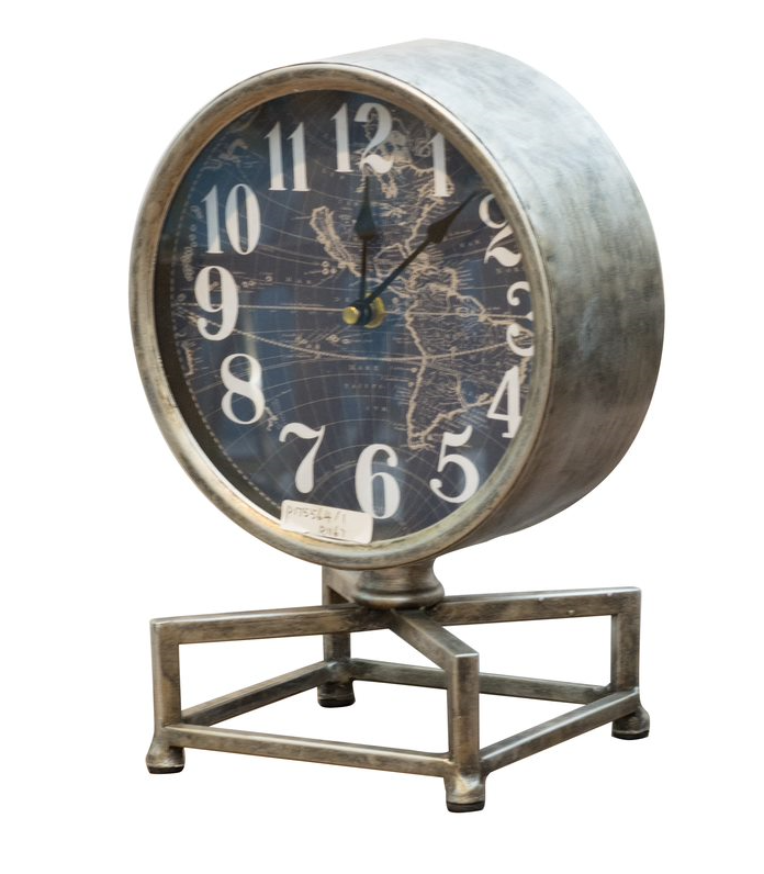 Metro Table Clock