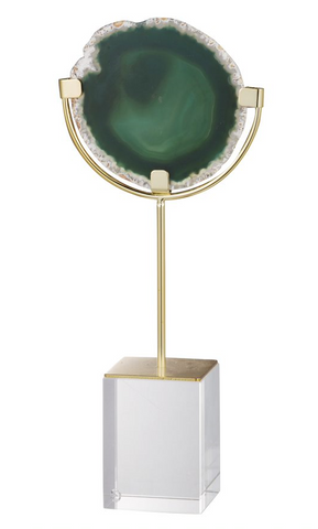 Floating Green Agate