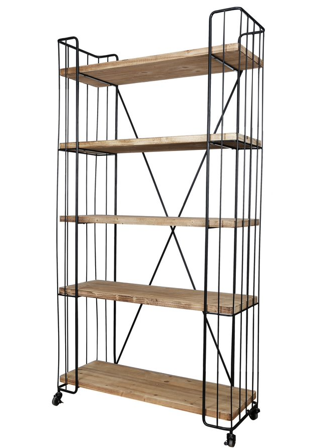 Quimby 5-Tier Bookshelf
