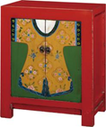 2 doors painted cabinet BF-60561