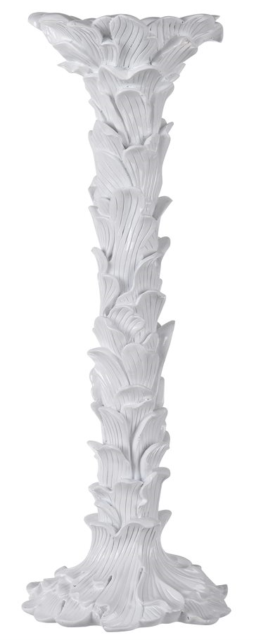 White Duchess Candle Holder