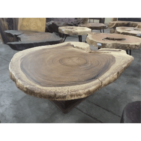 Coffee Table with Wooden Legs 70089-47
