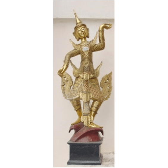 "Burmese Standing Dancer 50"" 1"