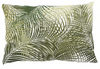 Feather Fill Palmetto Embroidered Pillow