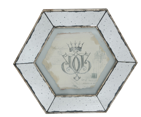 Image of Simeon Framed Crown Print