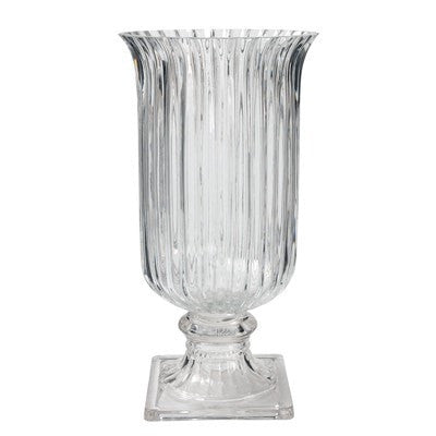 Wallis Flutex Textured Glass Vase Medium