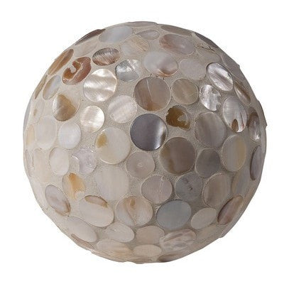 Mother-of-Pearl Decorative Sphere