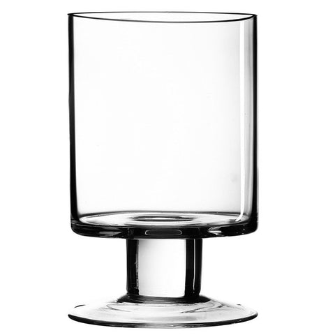 Glass Candle Holder Large