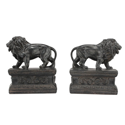 Attenta Lion Bookends Resin