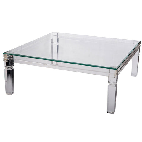 Beatrix Acrylic Clear Table