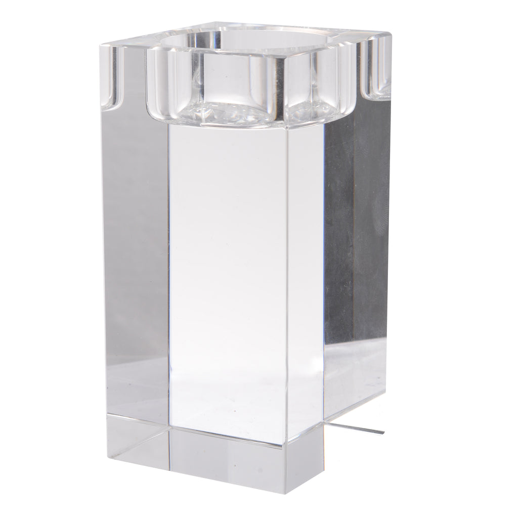 CRYSTAL TEALIGHT HOLDER,Tall