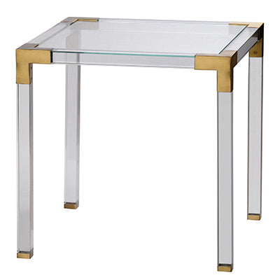Glass & Acrylic Side Table