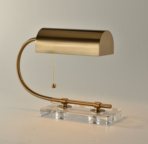Golden Lab Table Lamp