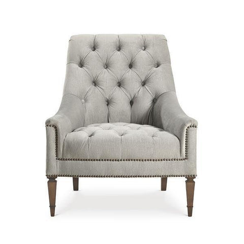 Classic Elegance- K Tufted Chair by Schnadig®