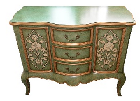 Olive Green Long Console