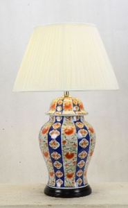 Funky Oriental Table Lamp