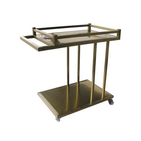 Anthony Service Cart Gold