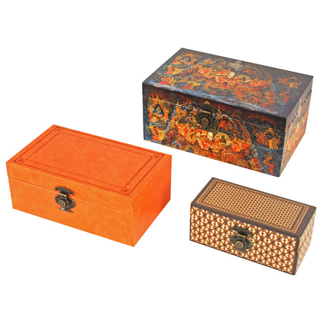 Nesting Print Boxes Sunset MEDIUM