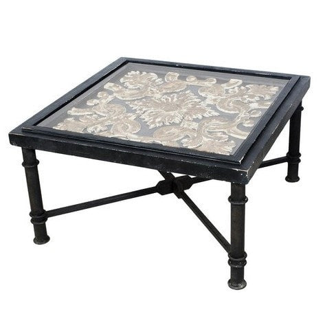 Arabesque square cocktail table