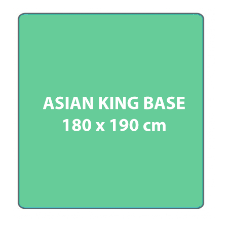 Box spring Asian King Bed Base (ON SALE)