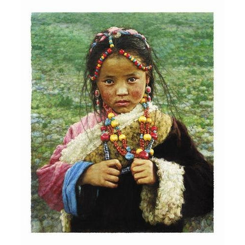 Girl In Gaiety Beads
