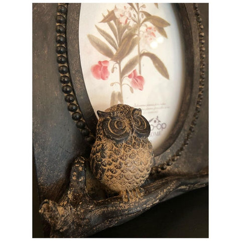 Image of Resin Owl Photo Frame