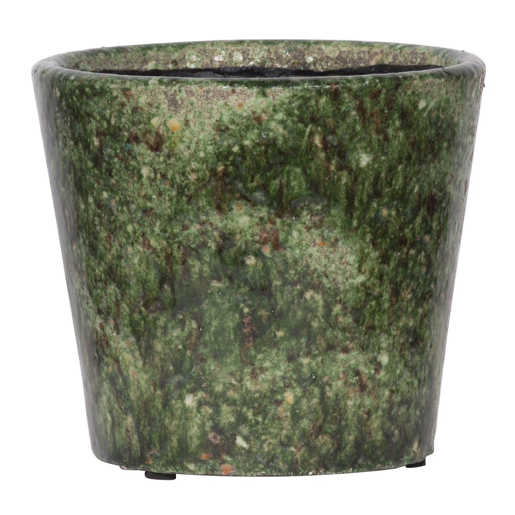 Firth Round Planter,Small-Green