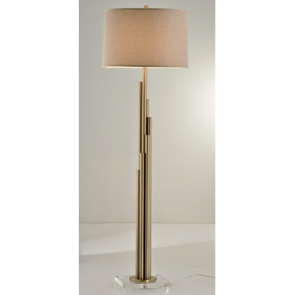 Golden Rods Floor Lamp