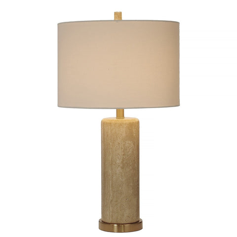 Honey Marble Table Lamp