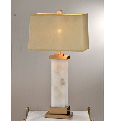 Halcyon Alabaster Table Lamp