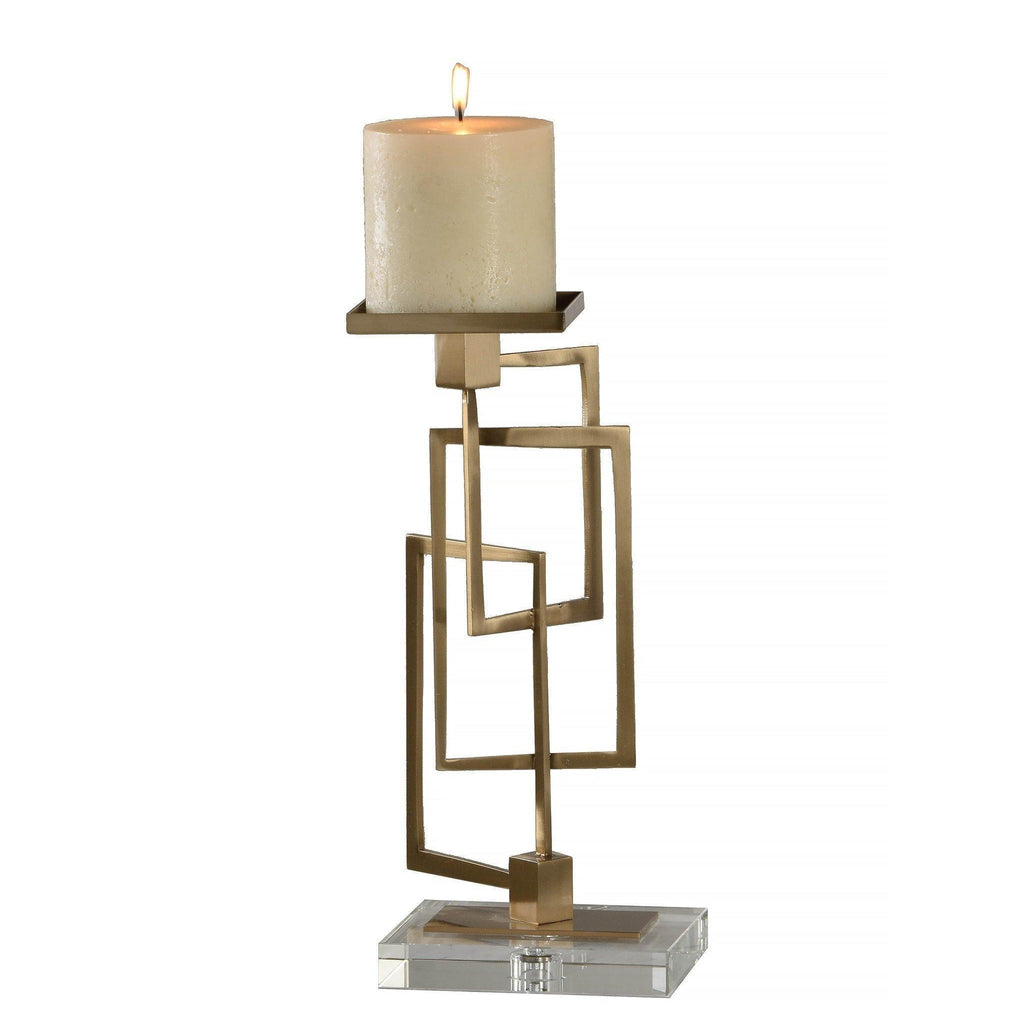 Elbow Candle Holder