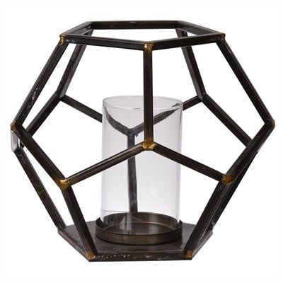 Sanders Polygon Candle Holder