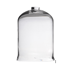 Open-Top Glass Dome - Large
