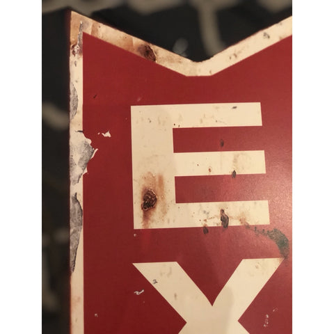 "Image of Metal ""Exit"" Sign"