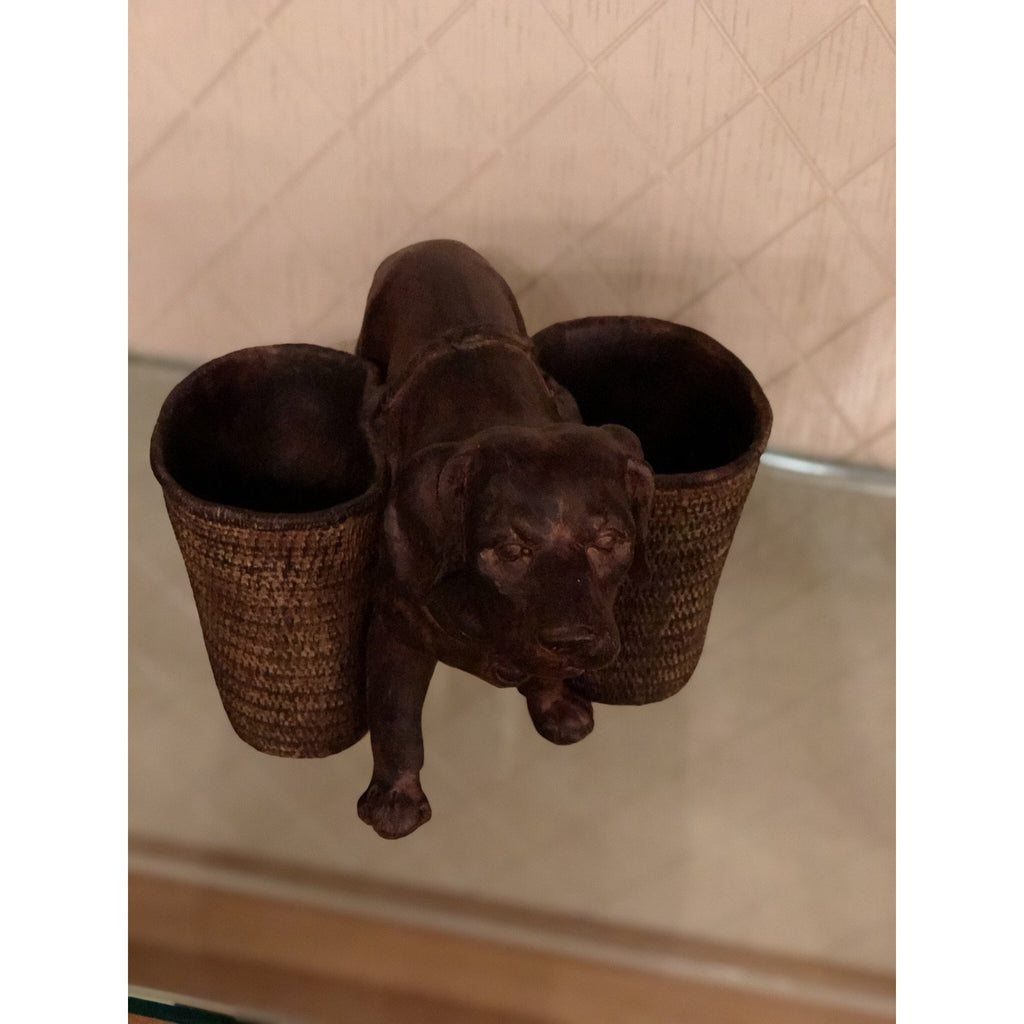 Resin Dog Utility Cup