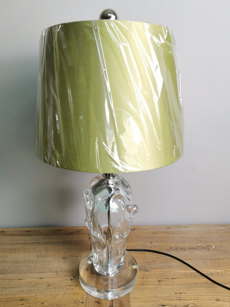 Crystal Bark Table Lamp