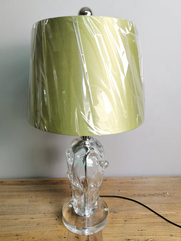 Image of Veined Crystal Lamp (ON SALE)