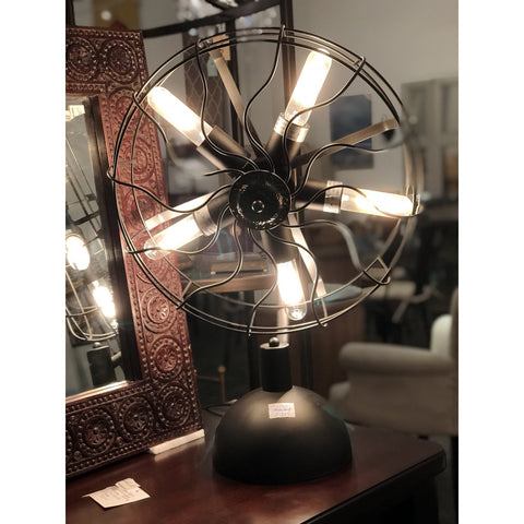 Fan Me Crazy Lamp