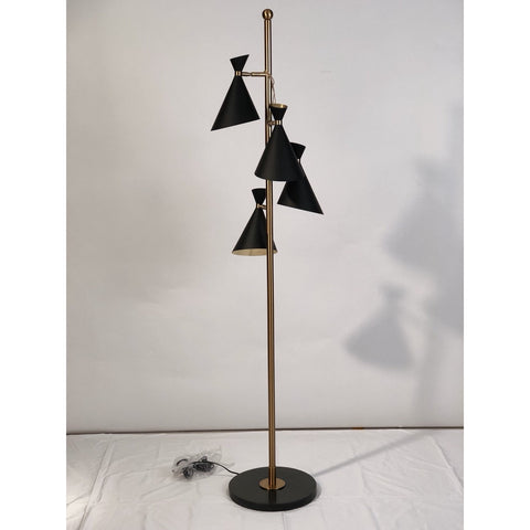Paint The Coffee Bronze Lamp